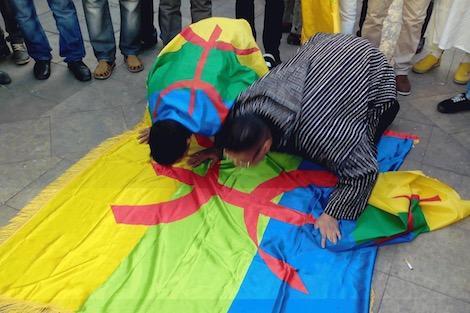 نشطاء أمازيغ يحتجون ضد تسمية أزقة أكادير بعناوين فلسطينية