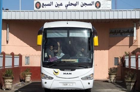 سجن عكاشة ينفي دخول معتقل عن حراك الريف في إضراب عن الطعام
