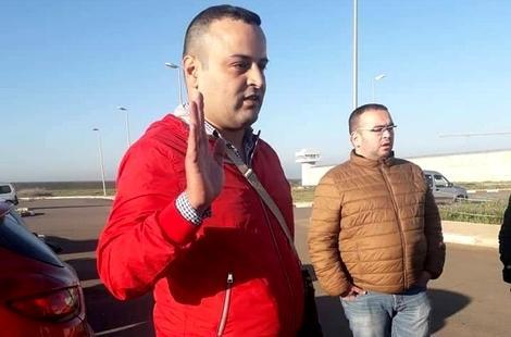"""معتقل في """"حراك الريف"""" بأروبا يعانق الحرية بعد قضائه 8 أشهر بسجن فاس"""
