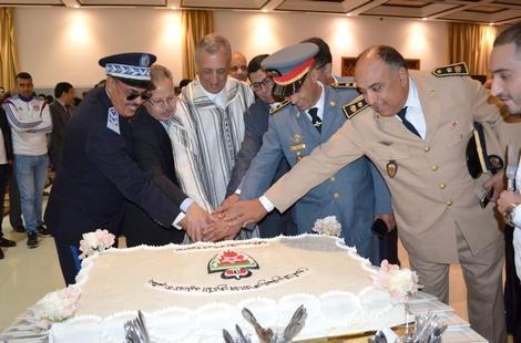 أسرة الأمن بالحسيمة تخلد الذكرى 63 لتأسيس المديرية العامة للأمن الوطني