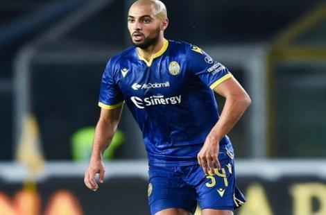 """سفيان أمرابط يوقع عقد انضمامه لـ """"نابولي"""" الإيطالي مقابل 15 مليون يورو"""