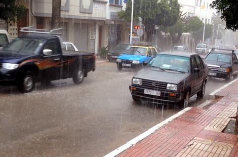 أمطار متوقعة بالأطلس والريف والمتوسط والشرق