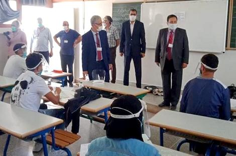 ضبط 56 حالة غش في امتحانات الباكالوريا بمديرية الحسيمة