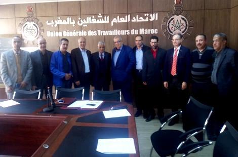 نزار بركة يستقبل النقابة الوطنية لعدول المغرب والجعواني يمثل الحسيمة في اللقاء