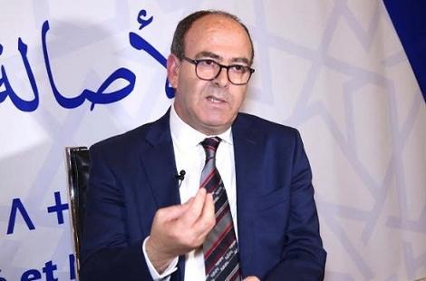 بنشماش يمد يده للحوار من أجل المصالحة مع خصومه ويحذر من انهيار الحزب