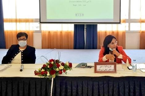 تنصيب أعضاء اللجنة الجهوية لحقوق الانسان بجهة طنجة تطوان الحسيمة