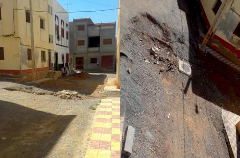 استياء عارم من عدم استكمال أشغال الشوارع والأزقة في مشروع منارة المتوسط ببني بوعياش