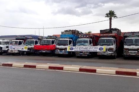 هذه وعود وزارة النقل لتعليق إضراب أصحاب الشاحنات