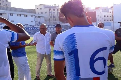 شباب الريف الحسيمي لكرة القدم يسير نحو قسم الهواة بخطى ثابتة