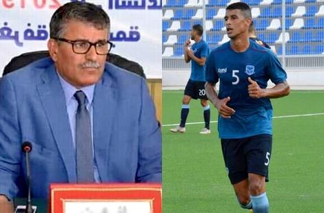 """لاعب شباب الريف الحسيمي السحمودي """"يتمرد"""" على الفريق"""