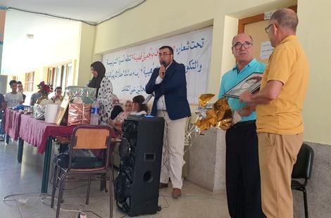 تكريم الأساتذة المحالين على التقاعد بثانوية الامام مالك بالحسيمة
