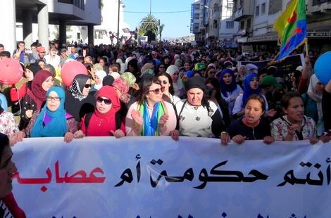 عائلات معتقلي حراك الريف تدعو الى مسيرة وطنية بالرباط