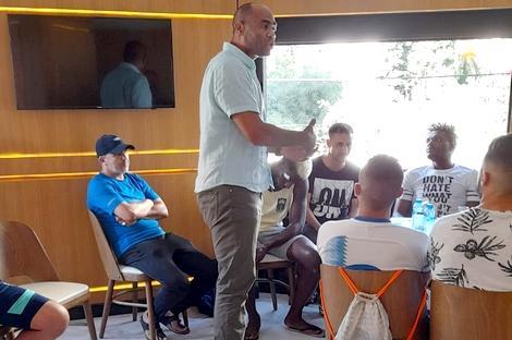 اللاعب الدولي السابق خالد فوهامي مدربا لشباب الريف الحسيمي
