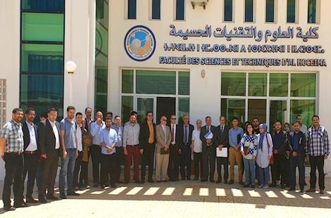 رئيس جامعة عبد المالك السعدي في زيارة تفقدية لكلية العلوم والتقنيات بالحسيمة