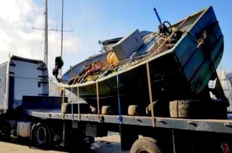 غرفة الصيد المتوسطية تسترجع قارب للصيد التقليدي مسجل بميناء الحسيمة من اسبانيا
