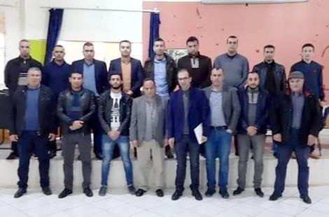 انتخاب عمر الفصيحي كاتبا عاما للجامعة الوطنية للتعليم فرع امزورن