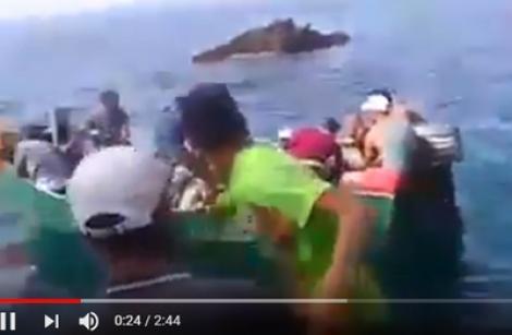 شباب من الحسيمة يركبون قوارب الموت