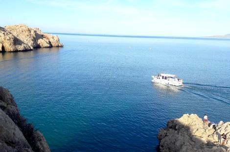 """القوارب السياحية .. الطريقة الجديدة لـ""""الحريگ"""" من المغرب إلى إسبانيا"""