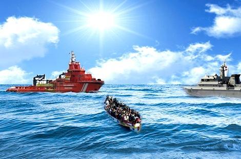 اسبانيا تنقذ 21 مهاجرا سريا يتحدرون كلهم من الحسيمة