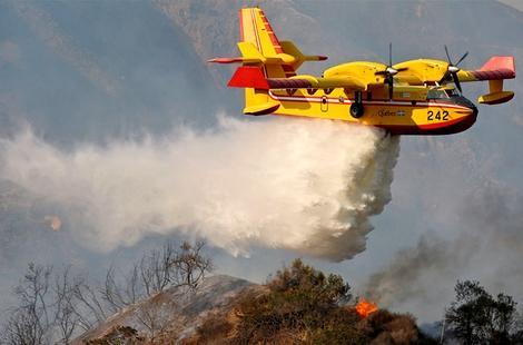 اندلاع حريق غابوي بالجبهة و النيران تلتهم مساحات كبيرة من الغطاء النباتي