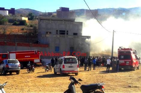 """مقتل عجل بعد اندلاع حريق مهول في """"زريبة """" لتربية الماشية ببني بوعياش"""