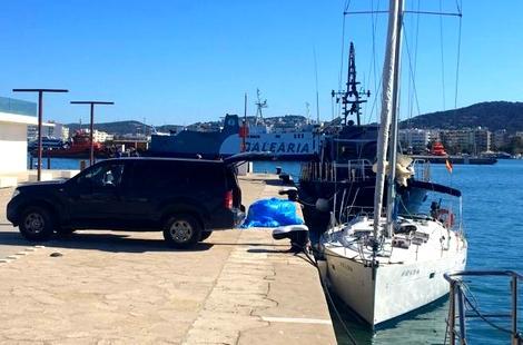 """محاولة لإغراق 5 أطنان من الحشيش """"المغربي"""" في المياه الإسبانية قبل ضبطها"""