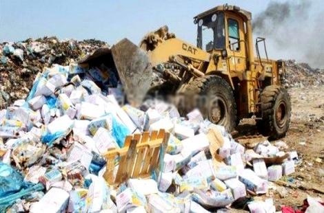 إتلاف أطنان من المنتجات الفاسدة خلال شهر رمضان بجهة طنجة تطوان الحسيمة