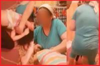 الأمن يعتقل الأم التي عرضت ابنتها للتعذيب بالكي