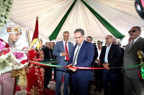 عامل اقليم الحسيمة يشرف على افتتاح معرض لتسويق وترويج المنتجات المجالية