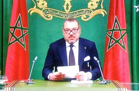 الملك محمد السادس يلقي خطاب العرش إلى شعبه من مدينة الحسيمة