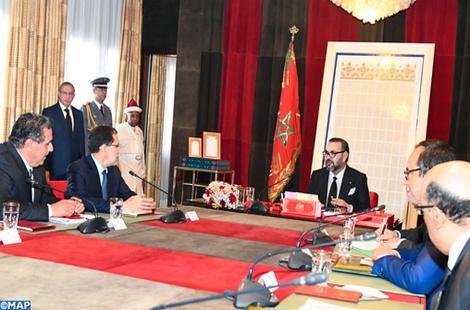 الملك محمد السادس يترأس اجتماعا لبحث حلول ﻷزمة الماء في شمال المغرب