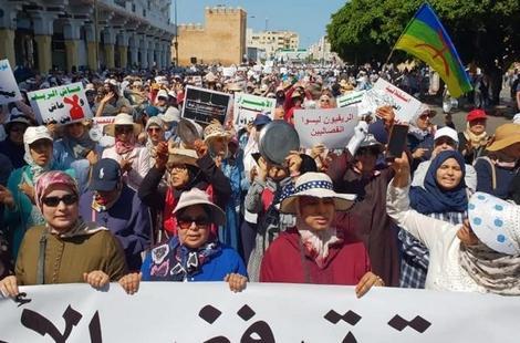 """الـAMDH تحشد لمسيرة """"21 أبريل"""" بالرباط للمطالبة بالحرية معتقلي حراك الريف"""