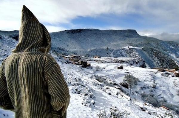 بارد قارس مع انخفاض درجات الحرارة إلى ناقص 3 بمرتفعات الريف