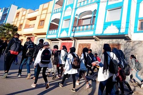 غياب النقل المدرسي يهدد مستقبل تلاميذ جماعة النكور القروية ضواحي الحسيمة