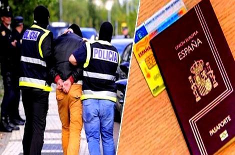 تفكيك شبكة متخصصة في تزوير وثائق الإقامة بإسبانيا يقودها المغاربة و الإسبان