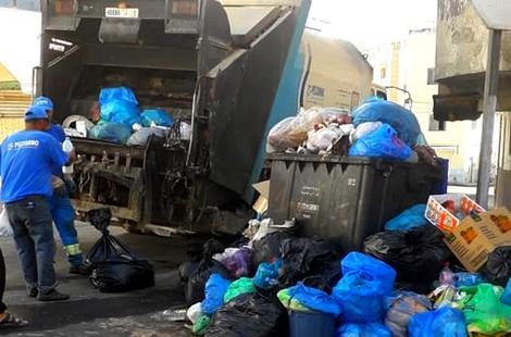 جمع حوالي 700 طن من النفايات خلال فترة عيد الأضحى بالحسيمة +(صور)
