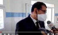 مندوب الصحة و وضعية مستشفى كورونا بامزورن