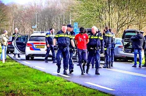 محاولة فاشلة لتحرير سجين مغربي محكوم بالمؤبد من سجن بهولندا +(صور)