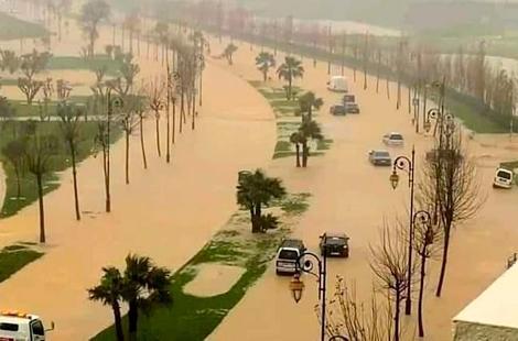 تطوان.. التساقطات المطرية الغزيرة أدت إلى خسائر مادية كبيرة