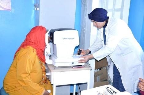 استفادة أزيد من 200 شخص من حملة طبية بجماعة اسنادة بإقليم الحسيمة