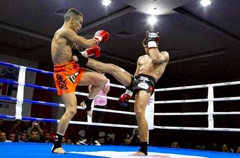 ابن الحسيمة زكرياء التجارتي يحافظ على لقبه في بطولة العالم للمواي طاي