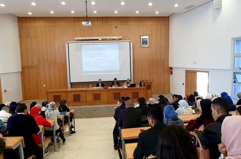 المرصد الوطني للدراسات الوقفية يتواصل مع طلبة الحقوق بطنجة