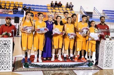 اتحاد امزورن لكرة السلة يفوز بدوري جمعية المجتمع الشبابي بالمغرب وأوربا