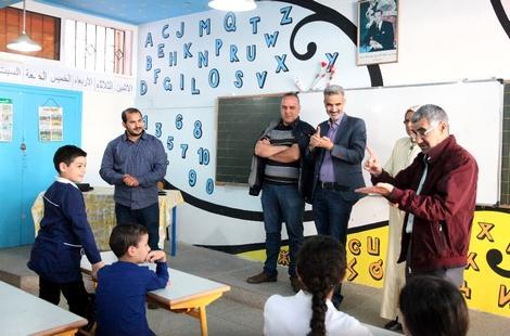 تبادل ثقافي بين مؤسسة الهجرة بهولندا ومديرية التعليم بالحسيمة