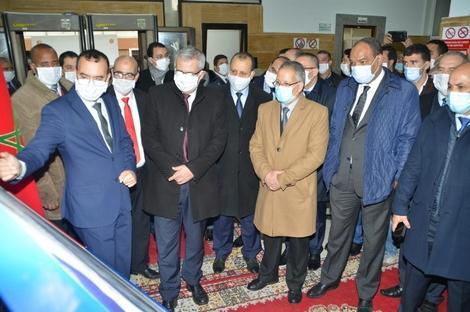 وزير العدل في زيارة رسمية إلى الدائرة الاستئنافية بالحسيمة