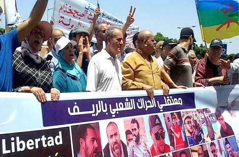 """عائلات معتقلي حراك الريف تتهم مجلس بوعياش بالتستر على """"التعذيب"""""""