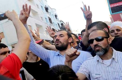 """تجميع الزفزافي وأحمجيق في سجن """"طنجة2"""" الى جانب المعتقل محمد جلول"""